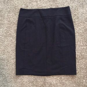 Navy Skirt - size 12